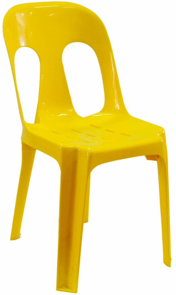Pipee Slotted Chair, Yellow [1024x768]